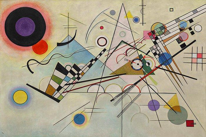Vasilij Kandinsky - Composizione VIII