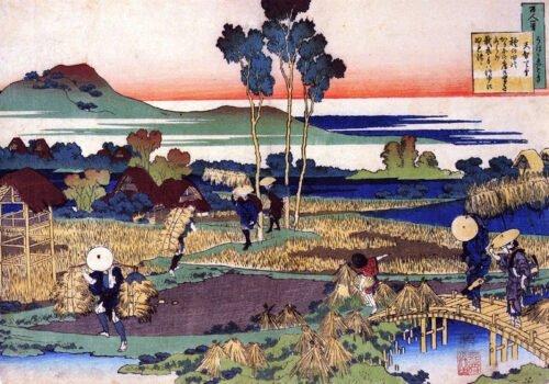 090155 Hokusai Emperor Tenji