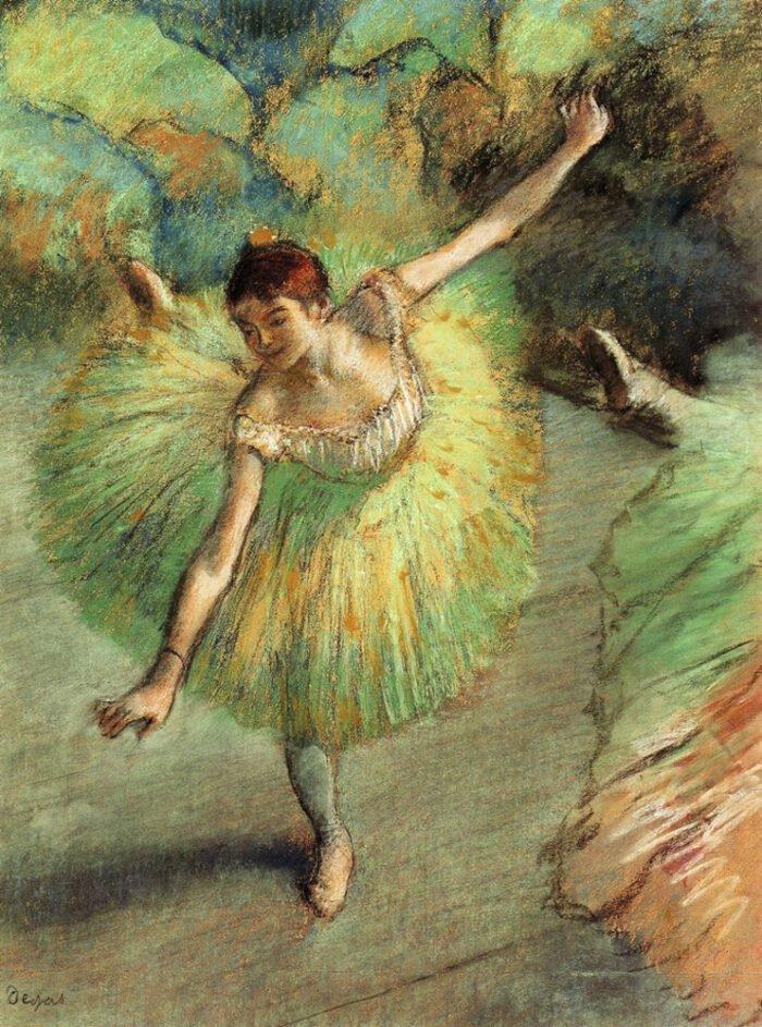 Edgar Degas - Ballerina in posa