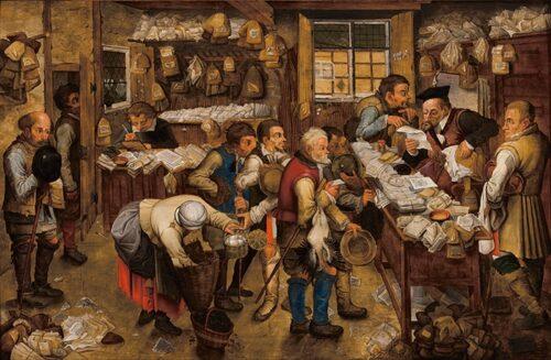 090217 Bruegel Pieter Ufficio delle Tasse
