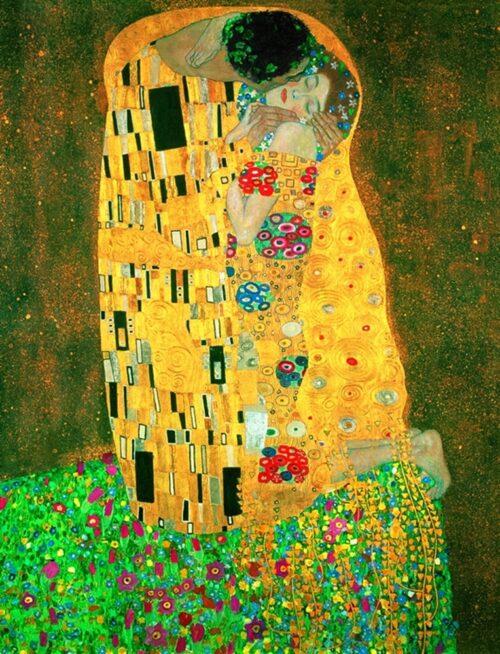 Gustav Klimt - Il Bacio