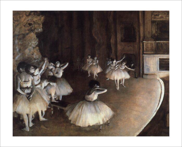 31969 Degas Prove di Balletto in Scena