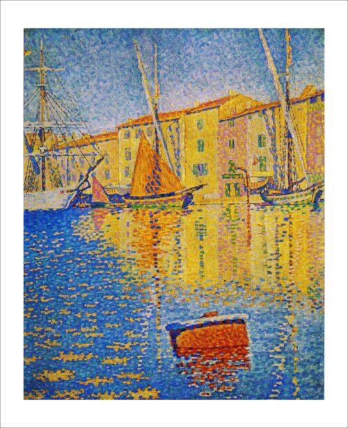32012 Signac-La Boa Rossa, St. Tropez 1895