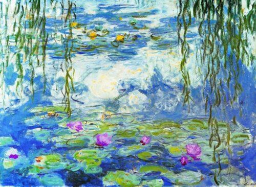 530 Canvas Monet-Ninfee