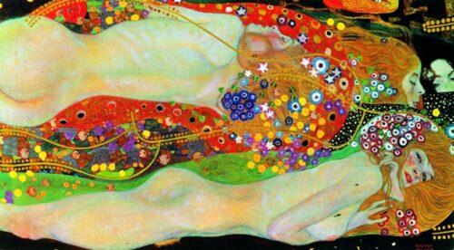 Gustav Klimt - Wasserchalange