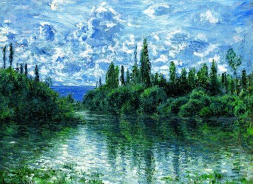 Claude Monet - Bras de la Seine pres de Vethuil