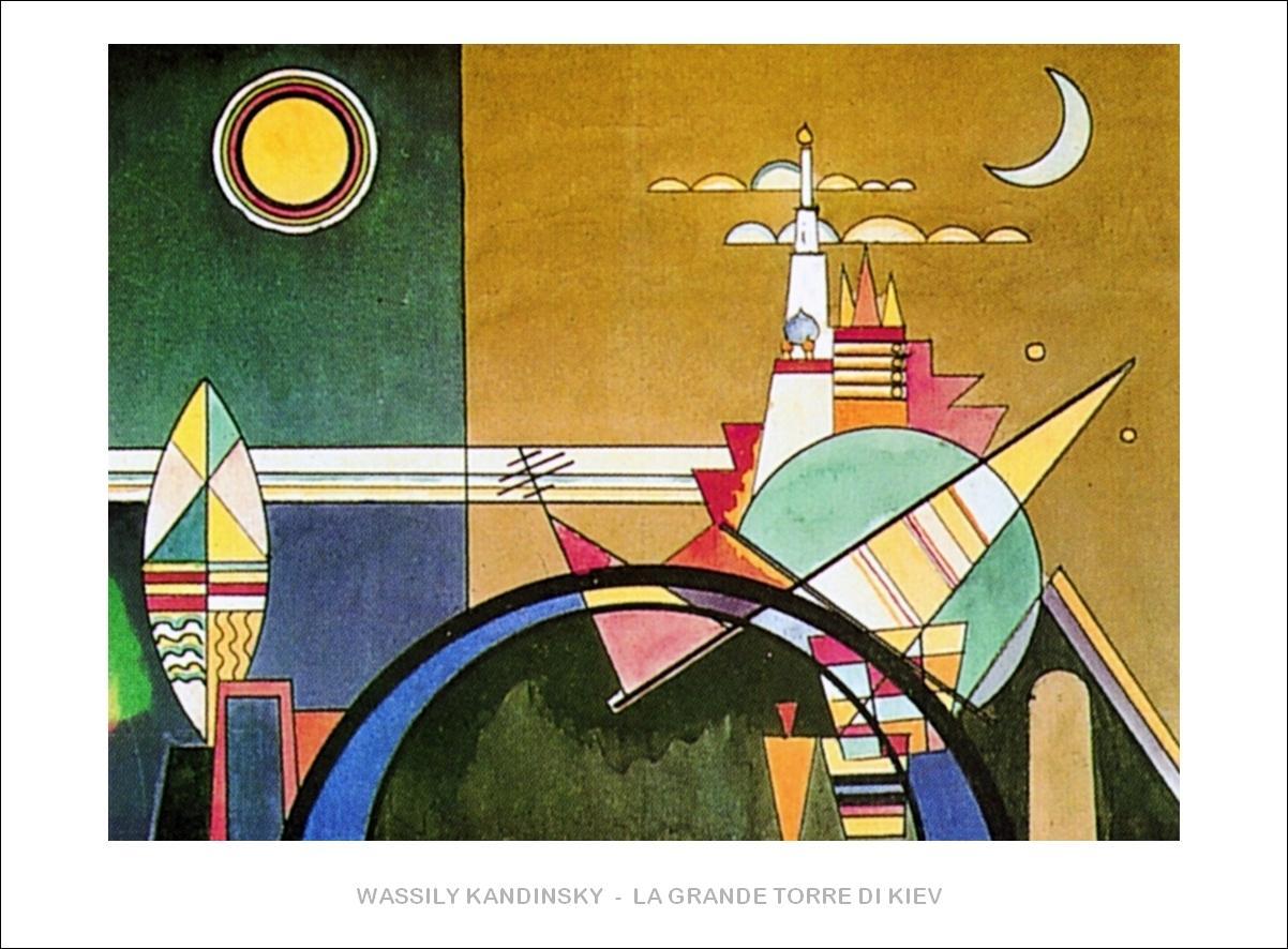 Vasilij Kandinsky - La grande torre di Kiev