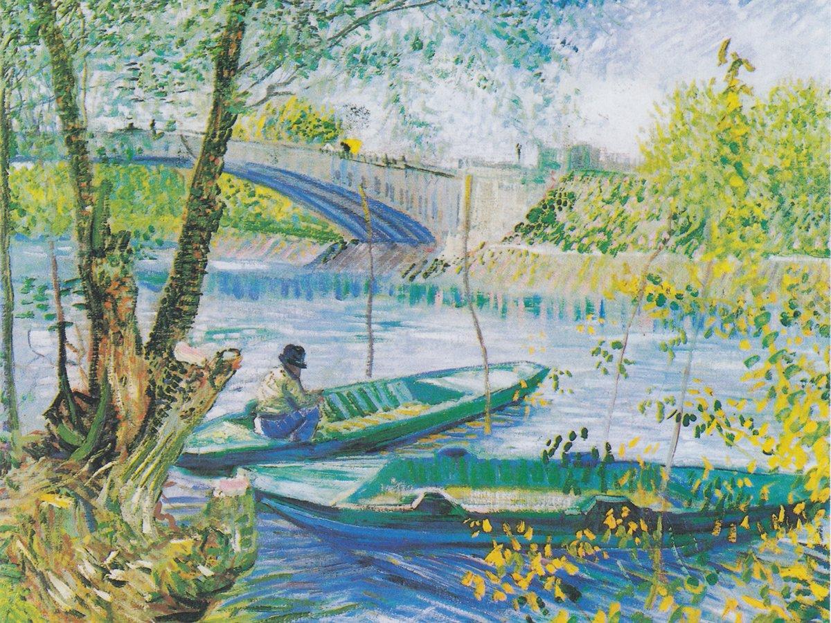 090235 Van Gogh-Il Ponte Clichy