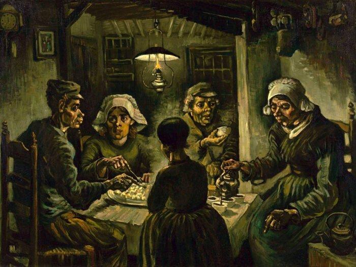 Vincent Van Gogh - I mangiatori di patate