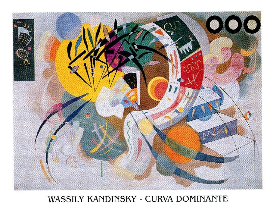 Vasilij Kandinsky - Curva dominante