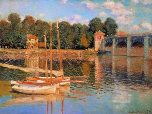 Claude Monet - Il ponte di Argentuil