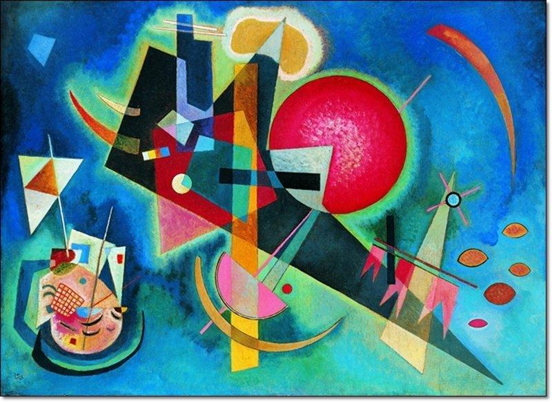 Vasilij Kandinsky - Nel blu