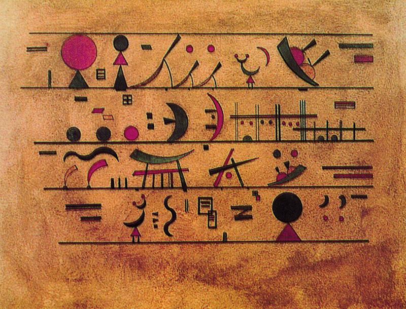 Vasilij Kandinsky - Righe di segni