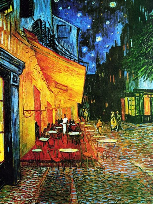 Vincent Van Gogh -Terrazza del caffè la sera