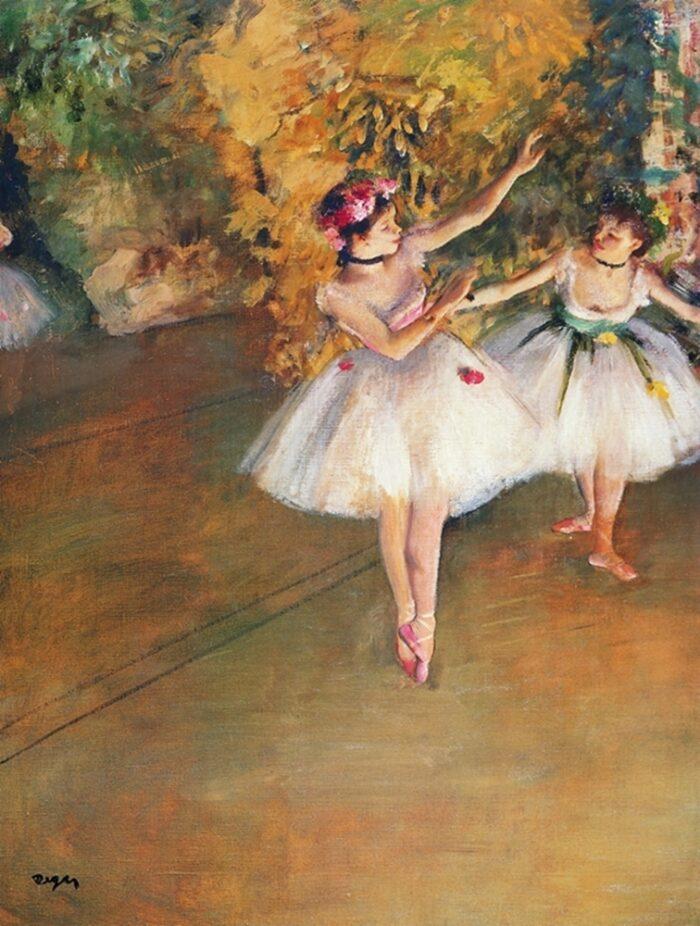 31552 Degas Ballerine Alla Barra
