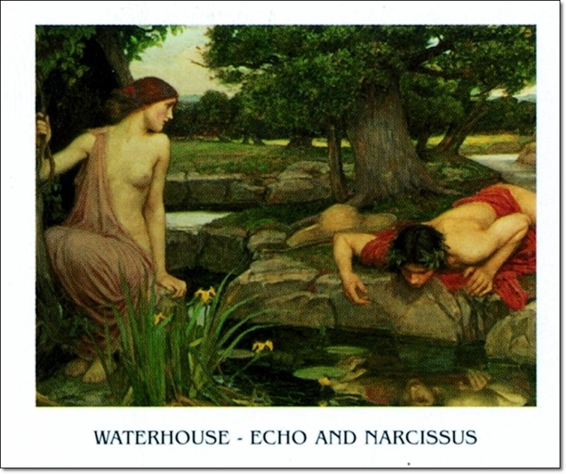 32035 Waterhouse Echo And Narcissus