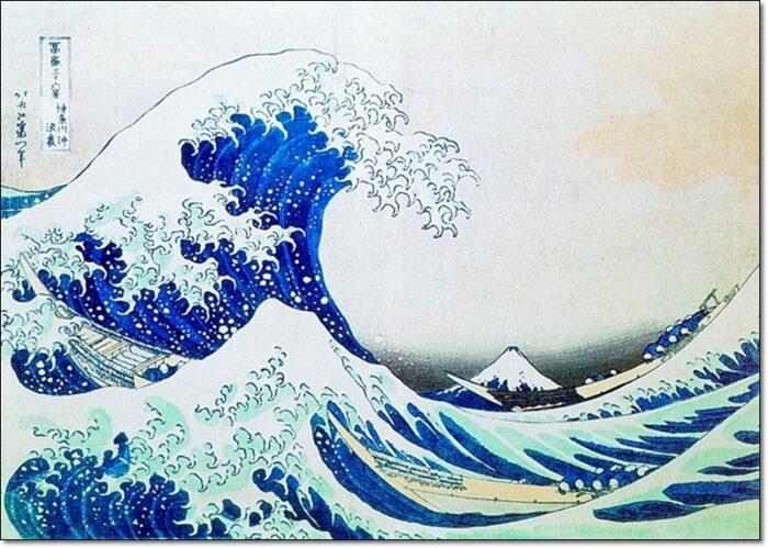 32490 Hokusai La Grande Onda Tsunami