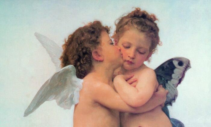 William Bouguereau -The First Kiss