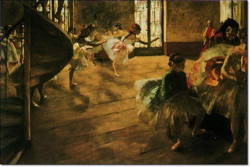 32849 Degas Rehearsal