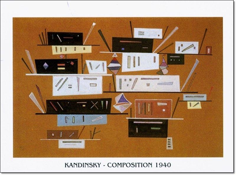 Vasilij Kandinsky - Composizione 1940