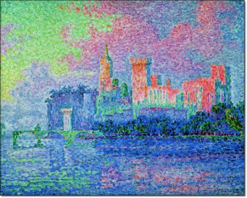 32868 Signac La Chateau Des Papes Avignon