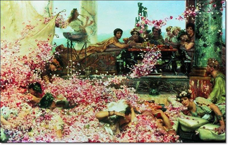 Alma Tadema - The roses of Heliogabalus