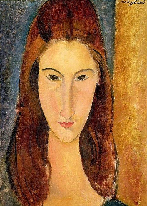 Amedeo Modigliani - Ritratto di Jeanne Hebuterne