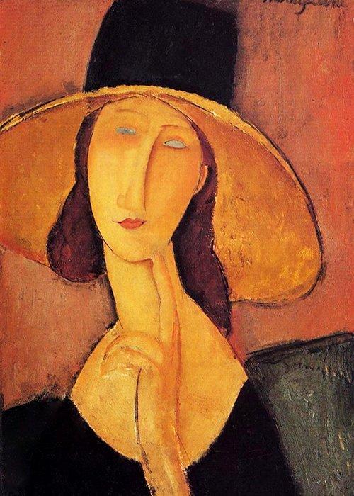 Amedeo Modigliani - Jeanne Hebuterne