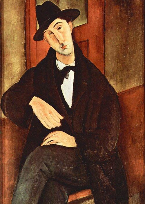 Amedeo Modigliani - Ritratto di Mario Varfogli