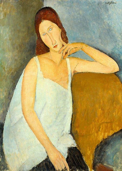 Amedeo Modigliani - Madame Jeanne Hebuterne