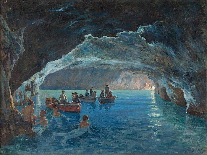 Antonino Leto - La Grotta azzurra