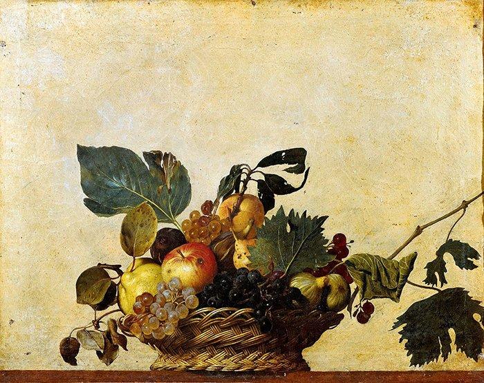 Caravaggio - Cesto di frutta