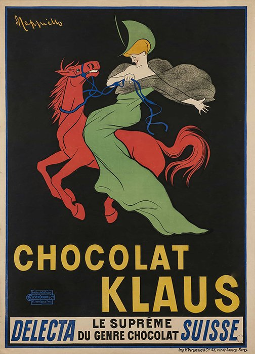 Leonetto Cappiello - Chocolate Klaus