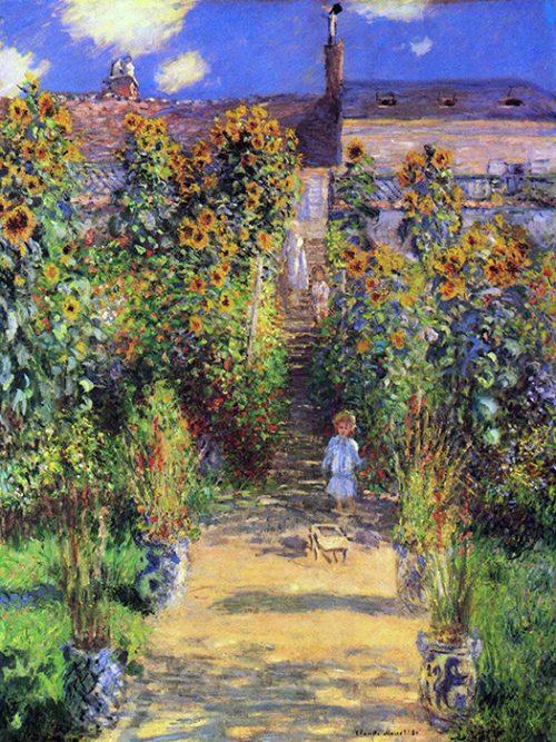 Claude Monet - Il Giardino dell artista a Vétheuil