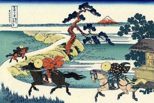 Katsushika_Hokusai - Fuji Yuyudo Sekiya