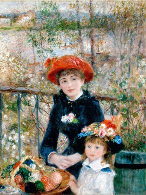Pierre Auguste Renoir - Sulla terrazza