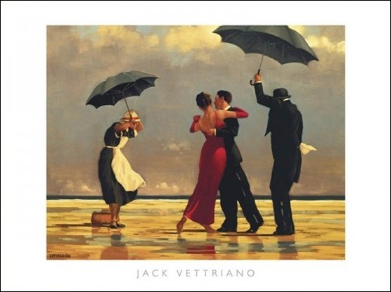 HP014050 Vettriano The Singing Butler
