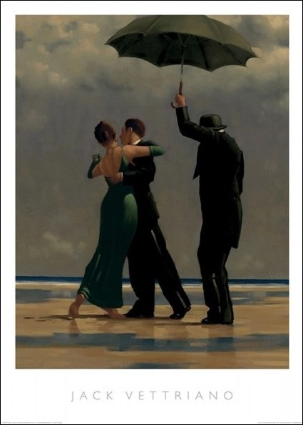 Vettriano Dancer-in-Emerald