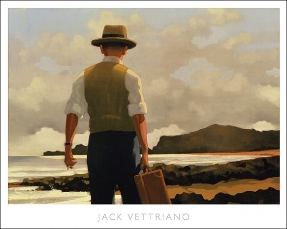 Vettriano The-Drifter-Poster