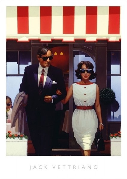 Vettriano Lunch Time Lovers