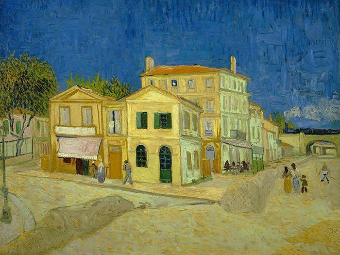 Vincent Van Gogh - La casa gialla