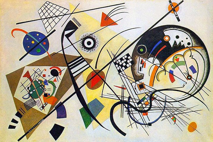 Vasilij Kandinsky - Linea traversa