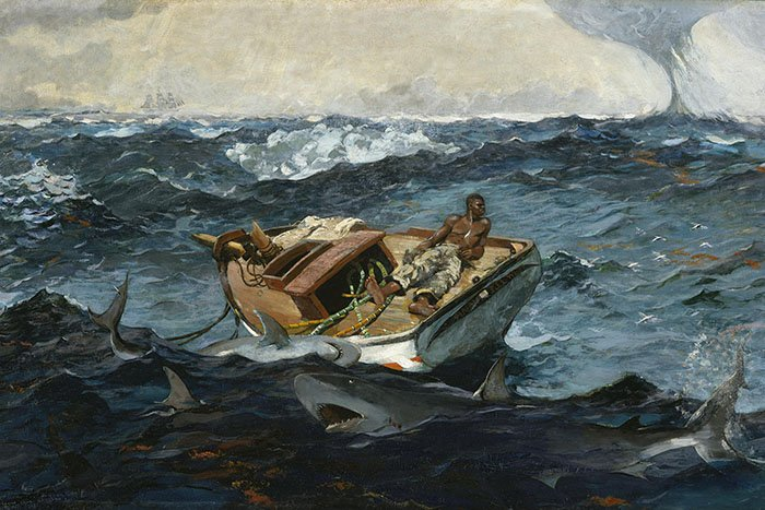 Winslow Homer - The gulf stream