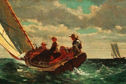 Winslow Homer - Raffiche di vento