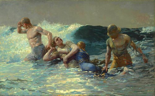 Winslow Homer - Undertow