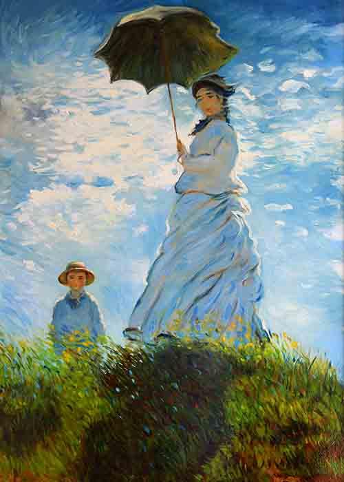 Claude Monet - La Passeggiata