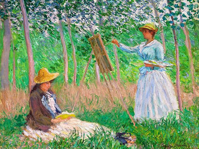 Claude Monet - Nel bosco di Giverny