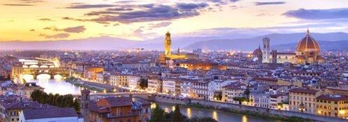 Firenze incantevole panorama