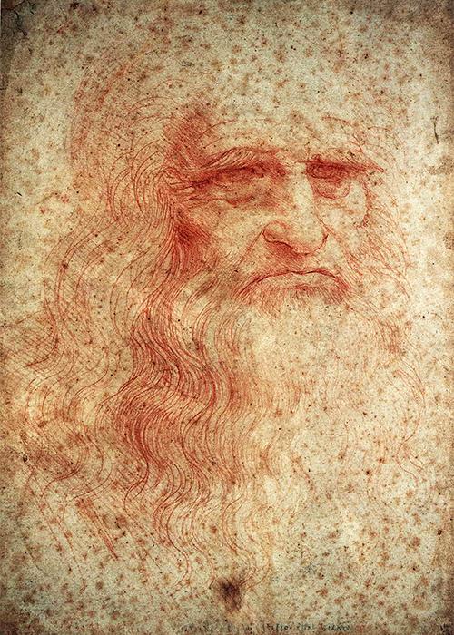 Leonardo da Vinci - Autoritratto