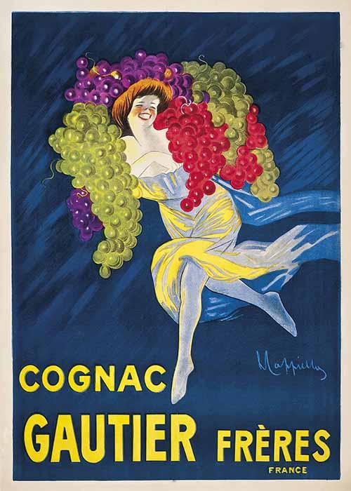 Leonetto Cappiello - Cognac Gauter Freres